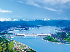 Three Gorges Hydropower Station of China